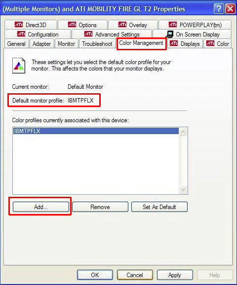 How to assign an sRGB ICC Profile to your monitor (Windows