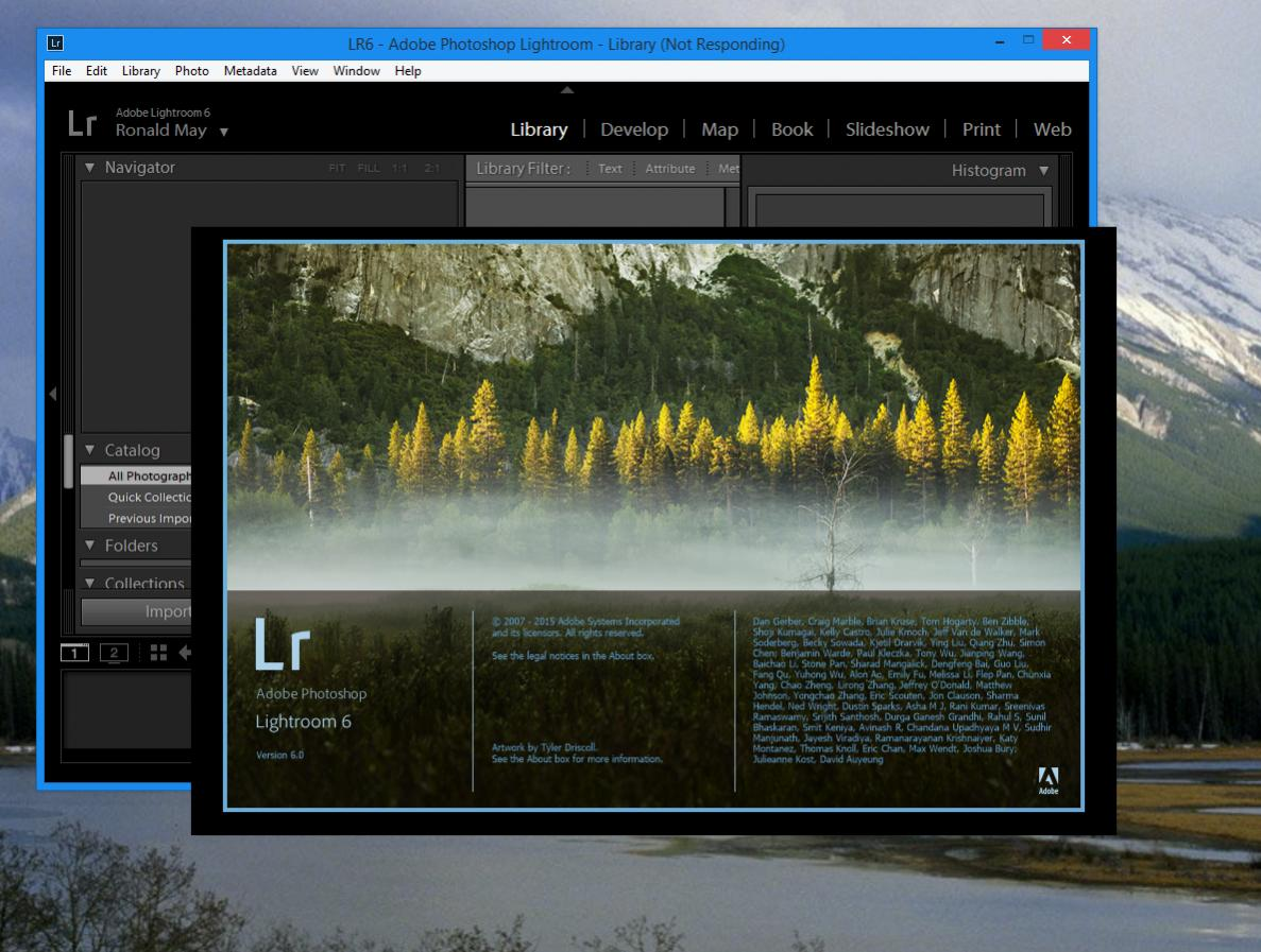 Lightroom 6 (Perpetual) Issues after Install – For Windows