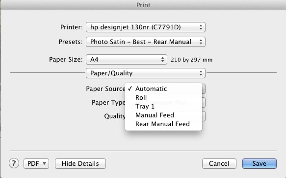 Printing unable to select manual paper feed options lightroom photoshop cs5g fandeluxe Gallery