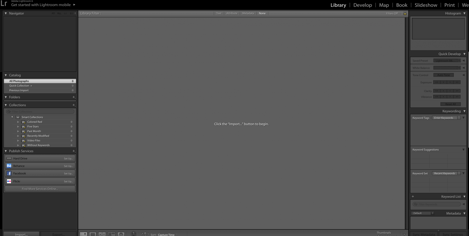 lightroom cc disappeared and now have lightroom mobile on