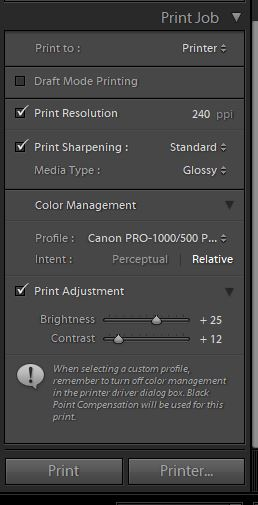 I Have Done Everything Can With Could Find In Settings To Allow Lightroom Control The Color Rather Than Printer