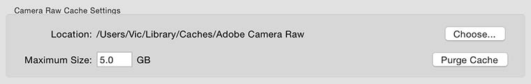 Lightroom Performance – Previews & Caches – 6