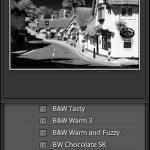 preset panel and navigator preview