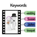 How do I assign keywords to my photos?