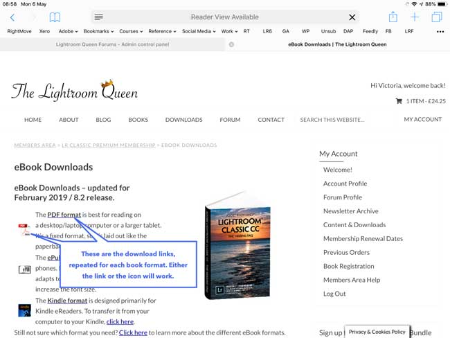 How do I transfer my eBooks to my iPad/iPhone? | The